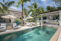 Mia Palm Villas on Chaweng beach in Koh Samui